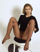 Sexy model in pantyhose (83 pics)