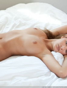 Beautiful naked angel