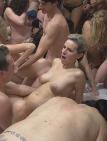 Czech mega sex party