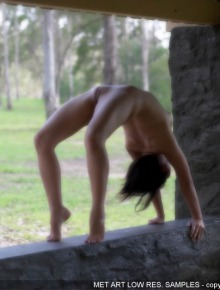 Erotic perfect gymnast