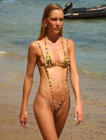 Fresh bikini babe