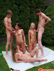 Group Sex whis Sabrina Blond