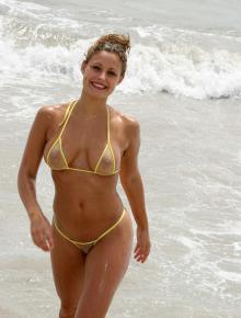 Sexy BB in micro bikini