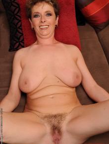 Beautiful nude lady fucking joyfully