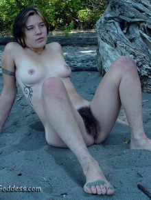 Sexy hot hairy girls nude outside